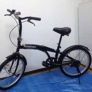 【美品】トレーディア 折りたたみ自転車