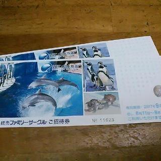 新江ノ島水族館入園券2枚¥2000