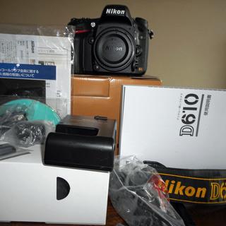 ニコン D610 ボディ   デジタル一眼レフカメラ (FX フ...