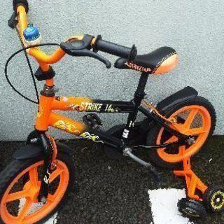 子供用14インチ自転車、チャリ。訳あり