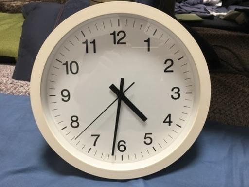 無印の掛け時計の画像