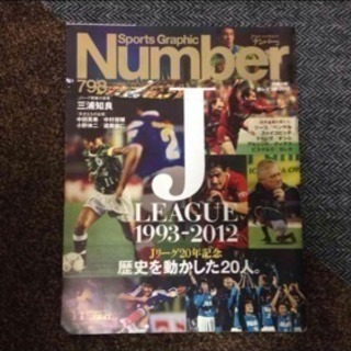 Number 798 J.LEAGUE 1993-2012