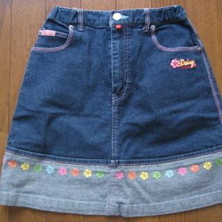 デイジーラバーズ スカート 160cm DAISY LOVERS デニム
