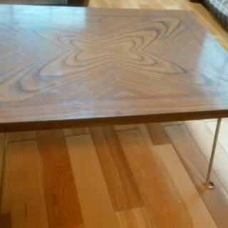 折りたたみ式テーブル 2脚