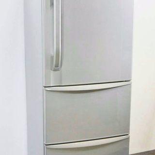 大家族にピッタリ TOSHIBA2010式大型ノンフロン冷凍冷蔵...