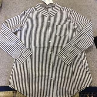「再値下げ!」新品  レディース ストライプ長袖シャツ  2 枚