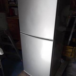 T500 SHARP 2ドア冷蔵庫 140L グレー 【動作確認済...