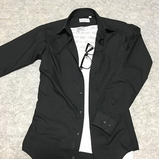 黒シャツ 新品未使用 ジョンピアース JOHNPEARSE S-82