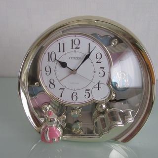 CITIZEN 置時計【美品】