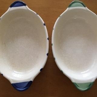 グラタン皿 2枚セット