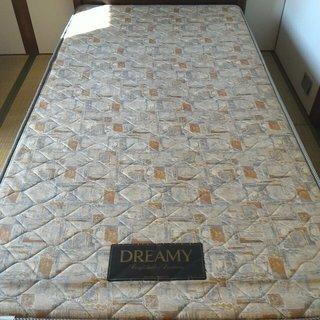 無料でお譲りいたします。 ドリームベッド シングルベッド