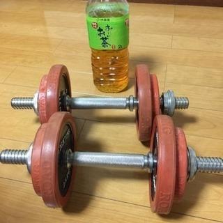 値下げします!10kgダンベル  自宅でトレーニング!