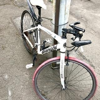 ビアンキ カメレオン クロスバイク