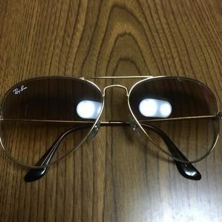 厚 17.1 Ray-Ban レイバン 中古 サングラス 美品 ブラウン