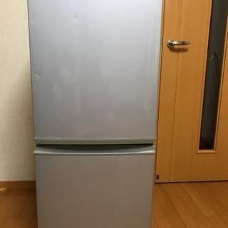 冷蔵庫 135L シャープ