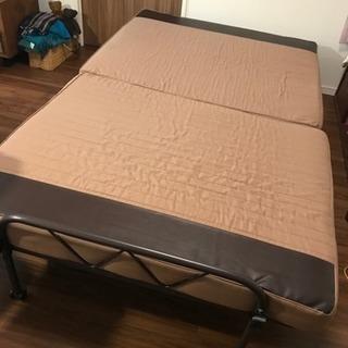 折りたたみベッド セミダブルサイズ