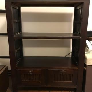 棚 シェルフ アジアン家具