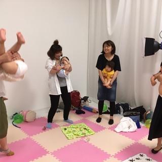 大阪・撮影付き!3才2才1才キッズマサージ&親子遊び