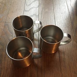 ステンレスマグカップ3個