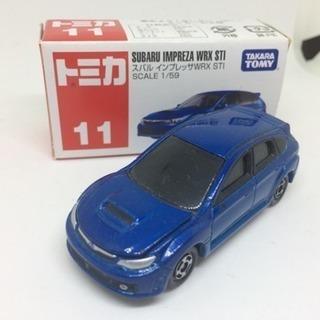 ☆絶版☆ トミカNo.11 スバル インプレッサWRX STI