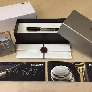 値下げ‼︎ペリカン スーベレーンM400茶縞❤︎万年筆