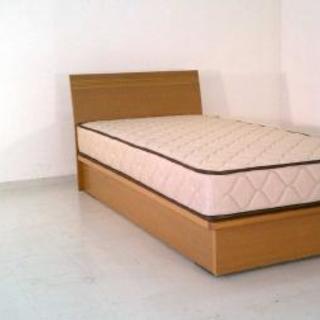 更に値下げ!シングルベッド 収納付き