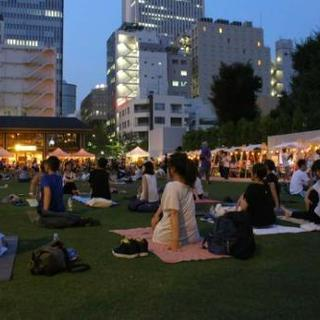 Relax Night YOGA in南池袋公園