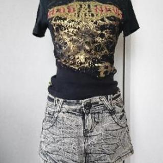 Tシャツ.スカートset👗
