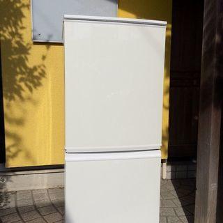シャープ 冷蔵庫 SJ-14Y 2013年製