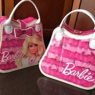 ハービー Barbie バッグ 二個セット