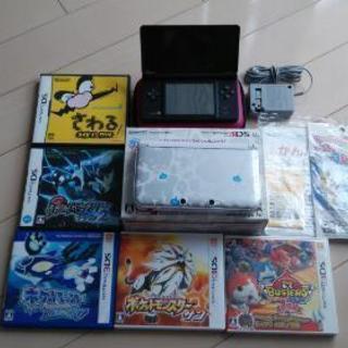 任天堂 3DSLL 本体 ★ソフト おまけ 多数☆大量  まとめ ...