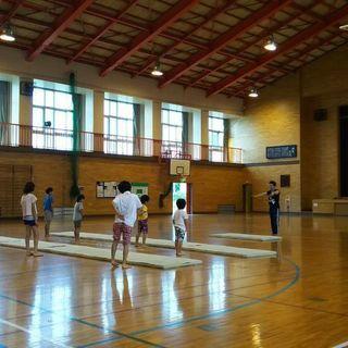 体操教室の出張レッスンです! − 埼玉県