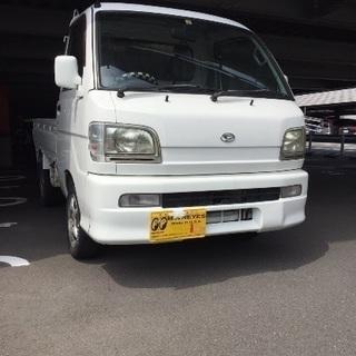 ロング車検付 ハイゼットトラック エアコン付き!!