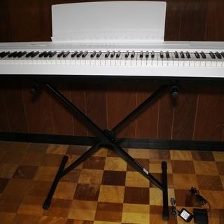 ★交渉中★★美品★YAMAHA 電子ピアノ P-105 スタンド付...
