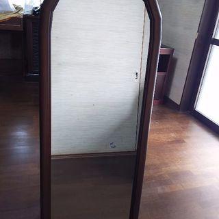 壁掛けチェーン付き鏡