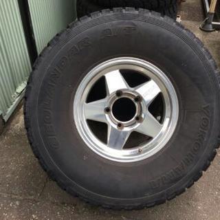 価格交渉可 ヨコハマタイヤ アルミホイール、タイヤ4本セット