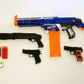 終了*nerf ナーフ 銃のおもちゃ いろいろまとめて 中古
