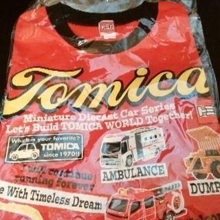 トミカのTシャツ新品(値下げ)