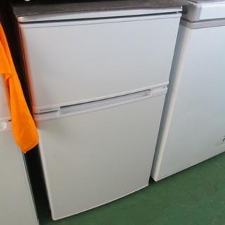 モリタ/2ドア冷凍冷蔵庫▼88L▼MR-D90E▼2013年▼湯...