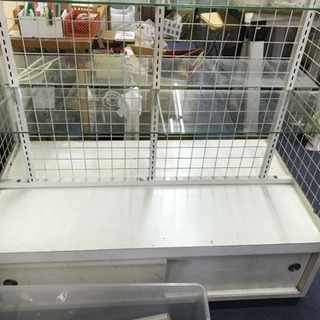 白棚 業務用 ラック テーブル