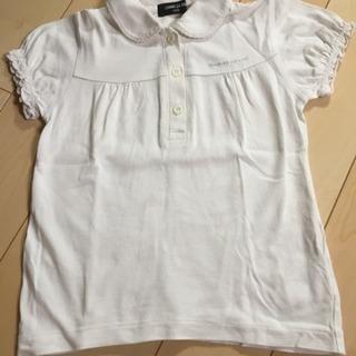 COMME CA ISM 白ポロシャツ