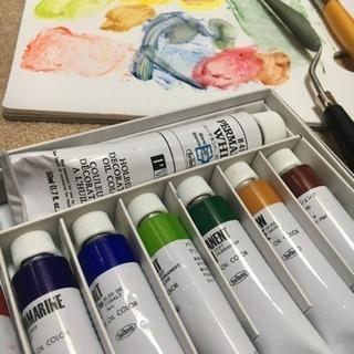油絵の描き方教えてください!