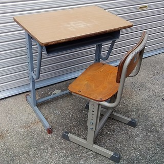 nekosの学習机♪ カフェ インテリア 小学校 勉強机 子供机 ...