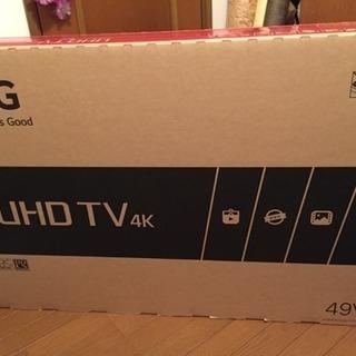 【新品未開封】LG 49V型 4K液晶テレビ HDR対応 IPS...