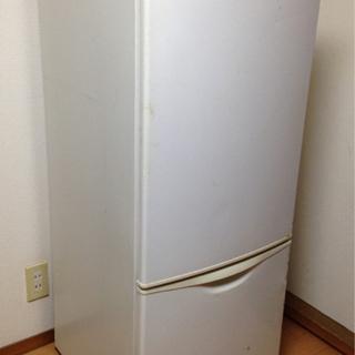 ナショナル冷凍冷蔵庫NR-B161J-WT形 162リットル ジャンク
