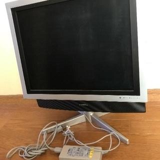 ジャンク  TOSHIBA 液晶カラーテレビ