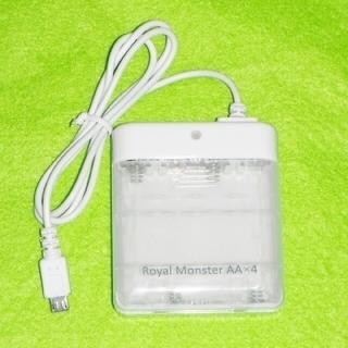 未使用品 乾電池式 モバイル充電器