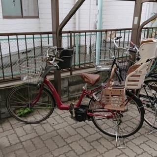 電動自転車 3人乗り対応