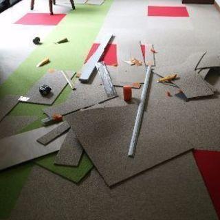 サンゲツタイルカーペット 6畳部屋 40000円税別途❗