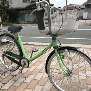 美品子供乗せ自転車になります。